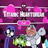 Titanic Heartbreak - Dia dos Namorados está próximo, Robin encontrou uma carta de Starfire e não tem dúvida de que é dirigida a ele. Ele pode ser visto ao redor da torre do Titan, flutuando em uma nuvem de amor, preenchendo todos os cantos da torre com corações do amor ... !!!