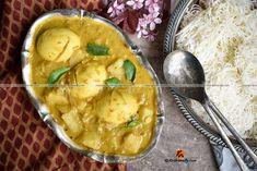 Kerala style Egg Mappas, Creamy Egg and Potato Curry