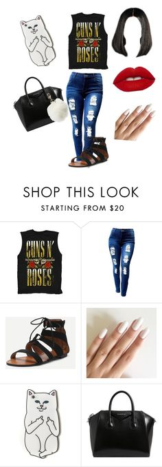 """""""Rebel Roses🌹"""" by adorejlee ❤ liked on Polyvore featuring RIPNDIP, Givenchy and Charlotte Russe"""