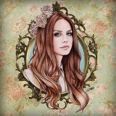 Lana Del Rey by Will Costa Illustration