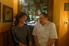 Rachel et Pierre Meyer au Bürestuebel (Pfulgriesheim)
