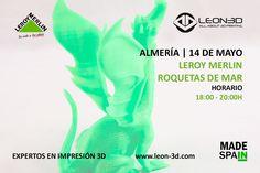 Taller de impresión 3D Leroy Merlin Roquetas de Mar (Almería)