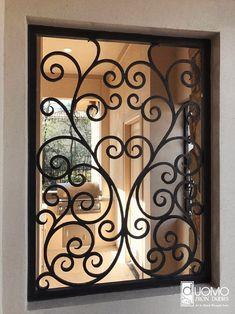 Iron Window Iron Window Railings Custom design for your home Security Luxury Style Wrought Iron . Door And Window Design, Window Grill Design, Home Grill Design, Iron Gate Design, House Gate Design, Wrought Iron Wall Decor, Wrought Iron Gates, Iron Windows, Iron Doors