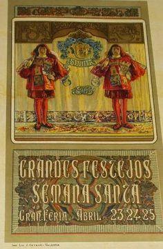 Cartel de Las Fiestas de Primavera de Sevilla 1908