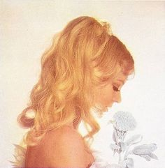 The inspiration: A ad for Klorane hair products. 7 Hairstyles Of The You'd Totally Wear Today Braided Hairstyles Updo, Wedding Hairstyles, Updo Hairstyle, Braided Updo, High Bun Hair, Hair Buns, Bleached Hair Repair, 60s Hair, Knot Braid