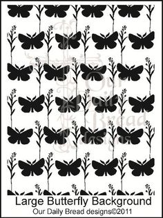 Large Butterfly  Background