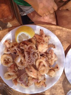 Fried calamari #greek