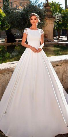 ce8bd7f023  simpleelegantweddingdressmodest Simple Wedding Gowns