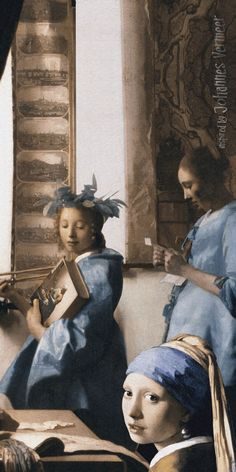 The Vermeer girls ... some of them!