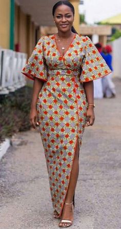 Trendy-Outfits-for-Curvy-African-Ladies Modern African Dress. - Diyanu Fashion Trendy-Outfits-for-Curvy-African-Ladies Modern African Latest African Fashion Styl Latest African Styles, Latest African Fashion Dresses, African Dresses For Women, African Print Dresses, African Attire, African Wear, African Prints, African Dress Styles, African Clothes