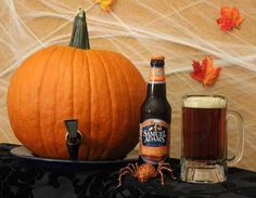 Pumpkin Keg - Fill with Elysian Night Owl for Halloween Party