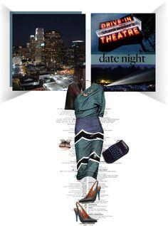 """Drive-in Theatre Elegant Outfit..."" by unamiradaatuarmario on Polyvore"