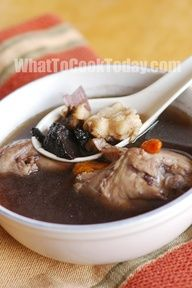 chinese herbs chicken soup