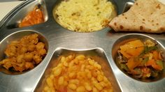 """See 3 photos and 1 tip from 8 visitors to Namaste Cape Town Indian Tandoori & Veg. dhai puri and sev puri"""" Sev Puri, Veg Thali, Indian Street Food, Cape Town, Chana Masala, Namaste, Pickles, Beans, Ethnic Recipes"""