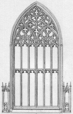 Gothic Window Example