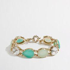 jcrew neon beaded bracelet