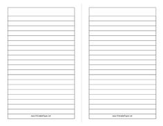 Printables   Different Kinds Of Papers Lined Paper College
