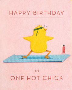 Hot Chick Birthday Card - Happy Birthday Funny - Funny Birthday meme - - Hot Chick Birthday Card by Good Paper The post Hot Chick Birthday Card appeared first on Gag Dad. Happy Birthday Hot, Happy Birthday Messages, Happy Birthday Quotes, Happy Birthday Images, Happy Birthday Greetings, Funny Birthday Cards, Handmade Birthday Cards, Humor Birthday, Card Birthday