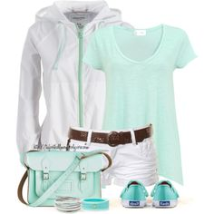 A fashion look from March 2013 featuring t shirts, hot pants and Keds. Browse and shop related looks.