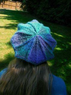 The Victoria Tam knitting pattern from Mountain Mist Fiberworks