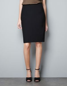 BASIC PENCIL SKIRT - Skirts - Woman - New collection - ZARA United States