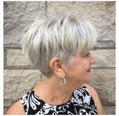 Short Hair Over 60, Short Thin Hair, Short Grey Hair, Short Hair Older Women, Haircut For Older Women, Short Blonde, Short Pixie, Pixie Cuts, Grey Blonde