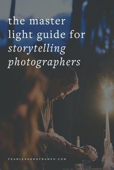 light for documentary, storytelling photography