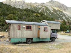 House truck camper