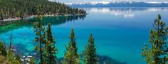 """Straddling California and Nevada, Lake Tahoe has been ranked """"America's Best Lake"""" by USA Today read... - topseller/shutterstock"""