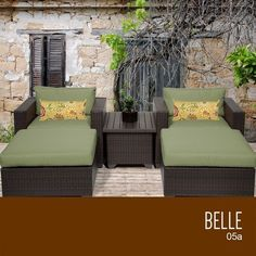 TKC Belle 5 Piece Outdoor Wicker Patio Furniture Set *** Clicking on the VISIT button will lead you to find similar swimwear
