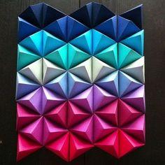 Triangles #wall #deco #home #livingroom