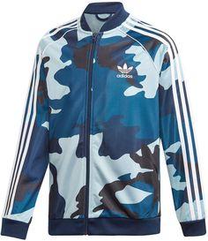 Adidas Boy/'s Tricot Full Zip Jacket Bold Onix//Solar Green