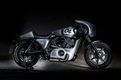 Harley-Davidson Cafe Racer SHDB 04 from the Czech Republic #motorcycles #caferacer #motos | caferacerpasion.com