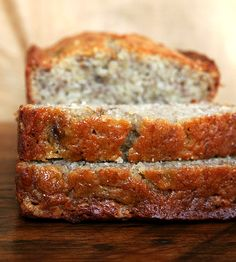 Mrs. Myers' Banana Bread -- Just made this recipe and by far the best banana bread I've ever tasted (none the less made!).  I tweaked it a bit... instead of buttermilk, I used melted butter.