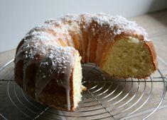 Coconut Bundt Cake With Powdered-Sugar Glaze