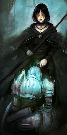 maiden in black, demons souls
