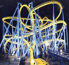 Ride the 10 Top Roller coasters in the world