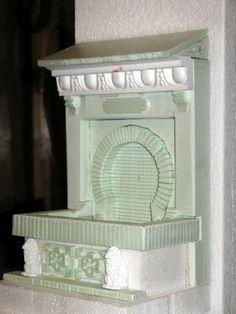 DETALLE DEL CASA Foam Carving, Styrofoam Crafts, Diy Nativity, Miniature Furniture, Ideas Para, Cribs, Home Appliances, Diy Crafts, Room