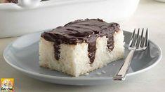 Chocolate Pudding Poke Cake - Weight Watchers Recipes