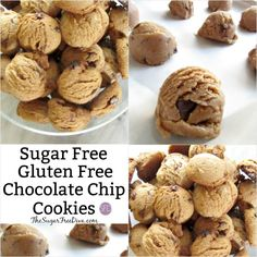 Enjoy this as it is the best Sugar Free and Gluten Free Chocolate Chip Cookie Recipe that I could find that is easy to follow too.