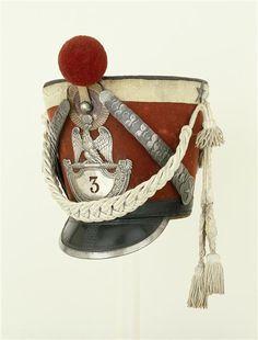 Shako del 3 rgt. delle guardie d'onore