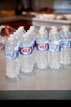 Dr suess water bottles