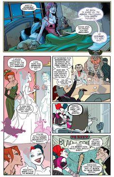 Harley Quinn Dreams About Bruce Wayne 6