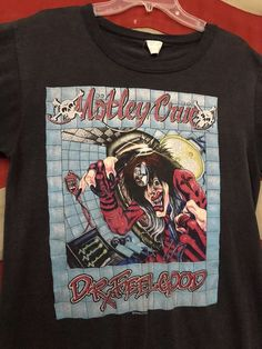 100ef438a0 VINTAGE 80s MOTLEY CRUE DR FEELGOOD 1989 CONCERT TOUR T SHIRT sz XL THIN   fashion  clothing  shoes  accessories  vintage  mensvintageclothing (ebay  link)