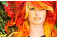This New Hair Color Trend Has Already Replaced Rainbow Hair via Brit + Co.