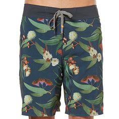 Men's Piping Hot Eucalyptus Print Boardshorts, $39, from Target Australia.