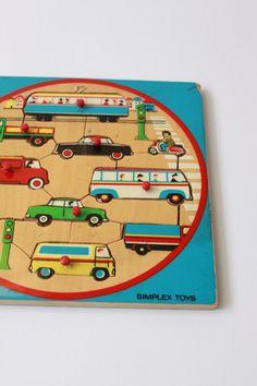 Simplex puzzle vehicles