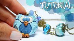TUTORIAL: Gufo in Pasta Polimerica   DIY Polymer Clay Owl   Lunatica Cre...