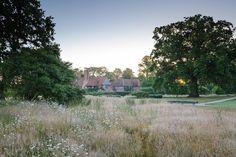 Berkshire — Dan Pearson Studio Dan Pearson, Garden Gates, Garden Landscaping, Planting Flowers, Landscape Photography, Facade, Country Roads, Studio, Plants
