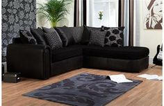 The truth about Suede and the best suede sofas to go for Black Fabric Sofa, Black Sofa, Colorful Couch, Suede Sofa, Sofas, Couches, Sofa Sale, Best Sofa, Corner Sofa